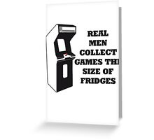 Arcade Collect Fridges Greeting Card