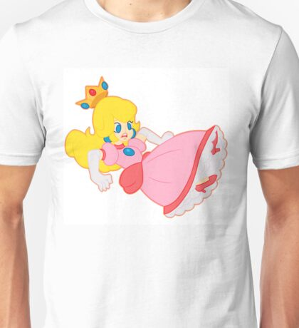 Princess Peach Falling Down Unisex T-Shirt