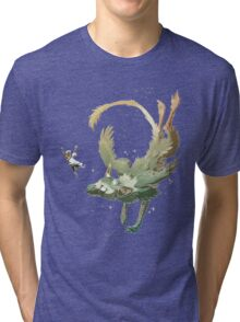 fly together with trico Tri-blend T-Shirt