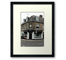 Four Candles Ale House Framed Print