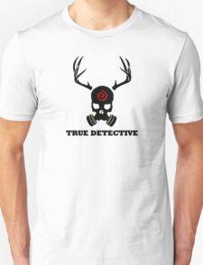 True Detective - Gas Mask - Black Unisex T-Shirt
