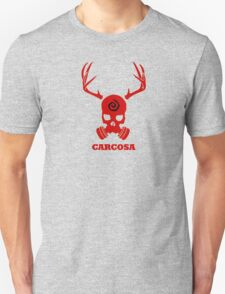 True Detective - Carcosa Gas Mask - Red Unisex T-Shirt