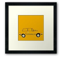 Yugo — The Worst Car In History Framed Print