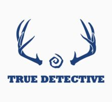True Detective - Antlers - Blue by Prophecyrob