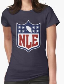 National League of Evil Womens Fitted T-Shirt