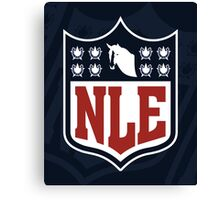 National League of Evil Canvas Print