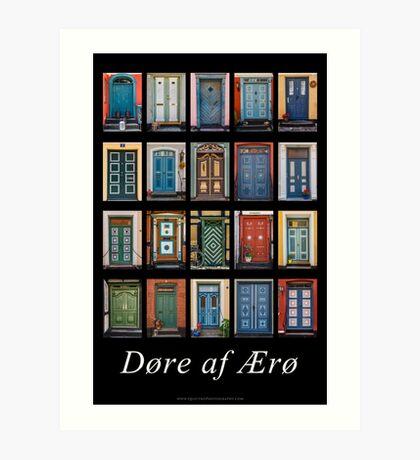 Doors of Aero Art Print