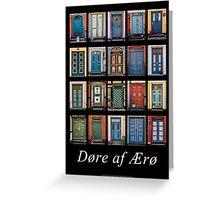 Doors of Aero Greeting Card