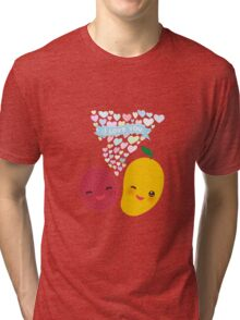 Happy Birthday Lychee and Mango Tri-blend T-Shirt
