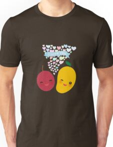 Happy Birthday Lychee and Mango Unisex T-Shirt