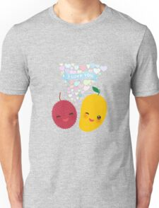 Happy Birthday Lychee and Mango Unisex T-Shirt