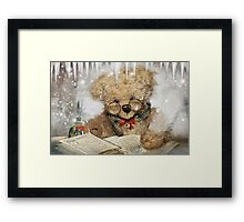 Dear Santa…I've been thinking Framed Print