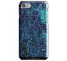 USGS TOPO Map California CA Challenge 289115 1948 24000 geo Inverted iPhone Case/Skin