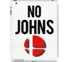 Smash - No Johns iPad Case/Skin