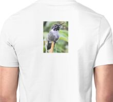 MALE HUMMINGBIRD COSTA'S ON YUCCA REED Unisex T-Shirt