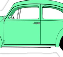 Beetle Flat colours Sticker