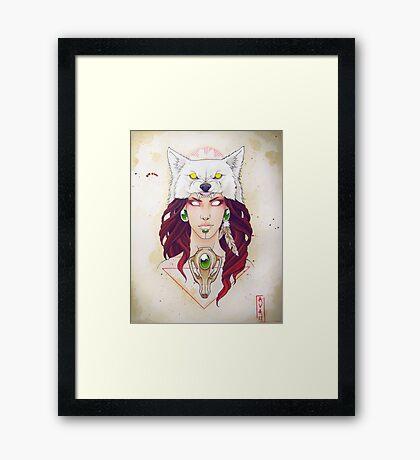 Mononoke Framed Print