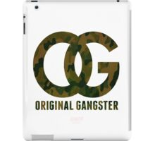 Original Gangster iPad Case/Skin