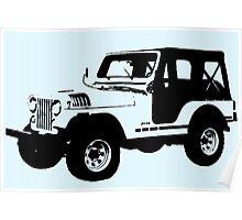 Teen Wolf - Stiles' Jeep Poster