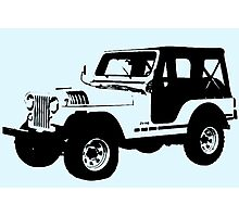 Teen Wolf - Stiles' Jeep Photographic Print