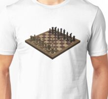 Chess Board Unisex T-Shirt