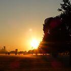 Urban Sunrise by WildestArt