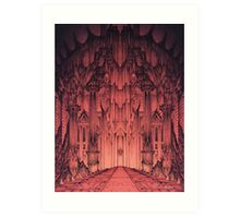 The Gates of Barad Dûr Art Print