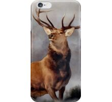 MONARCH OF THE GLEN, Digital Painting of this famous Stag iPhone Case/Skin
