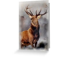 MONARCH OF THE GLEN, Digital Painting of this famous Stag Greeting Card