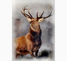MONARCH OF THE GLEN, Digital Painting of this famous Stag Unisex T-Shirt
