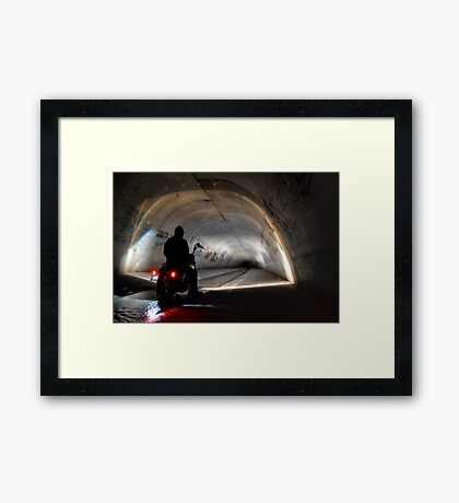 Rider On The Storm... Framed Print