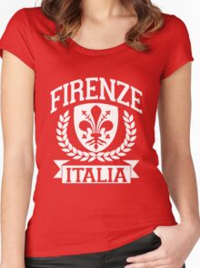 Firenze, Italia Women's Fitted Scoop T-Shirt