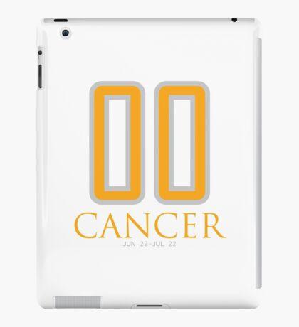 00 CANCER iPad Case/Skin
