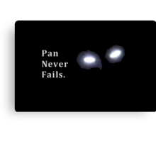 Once Upon a Time - Pan Never Fails. Canvas Print