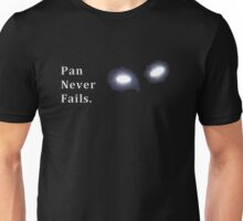 Once Upon a Time - Pan Never Fails. Unisex T-Shirt