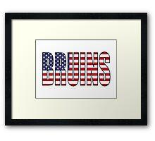 Bruins Framed Print