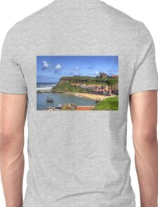 The Endeavour in Whitby Harbour Unisex T-Shirt