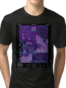 USGS TOPO Map California CA Spring Garden 295285 1994 24000 geo Inverted Tri-blend T-Shirt