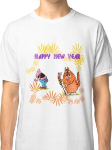 Happy New Year to our pets and all the other animals! Classic T-Shirt