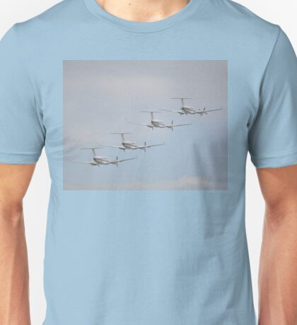 Townsville Air Show, Australia 2016-King Air formation Unisex T-Shirt