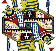 King Tut Card by Javis  White