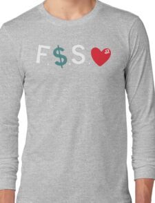 J.Cole / Fuck Money Spread Love Long Sleeve T-Shirt