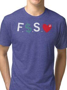 J.Cole / Fuck Money Spread Love Tri-blend T-Shirt