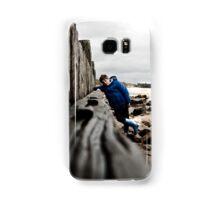Nathan at Lossiemouth beach Samsung Galaxy Case/Skin