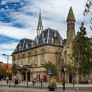 Bishop Auckland town hall by jasminewang