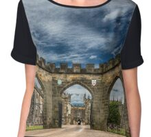 Bishop Auckland- castlegates Chiffon Top