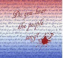 Do you hear the people sing? by edwardvsdamon