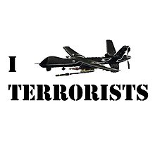 I MQ-9 Terrorists Photographic Print