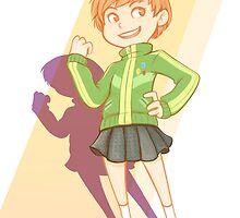 Persona 4 - Chie Satonaka by wattleseeds