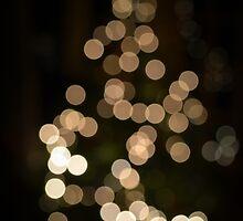 Christmas Tree Bokeh by Liam O'Reilly